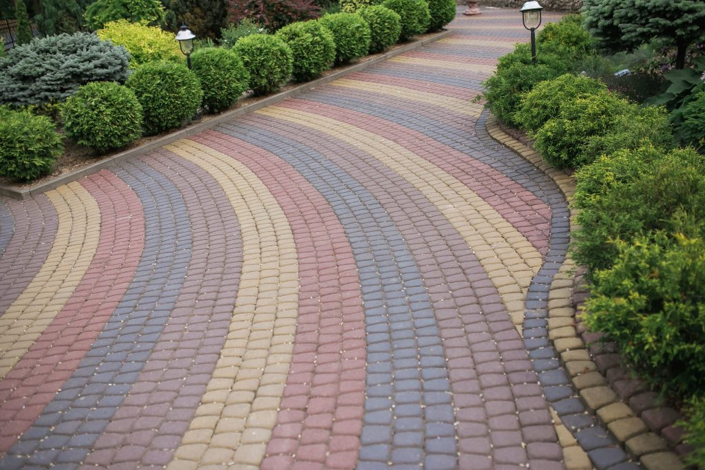 Maintain paver color with Crystal Clear
