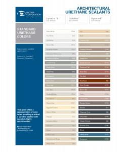 Dyna Trol II color chart