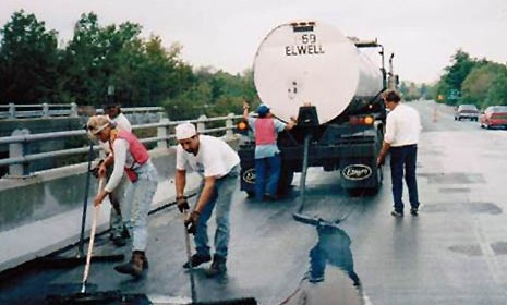 Bridge Deck Membrane Waterproofing