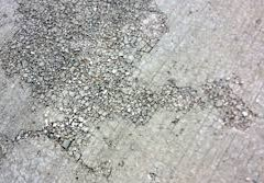 De-icing  Salts Attacking Concrete Surfaces