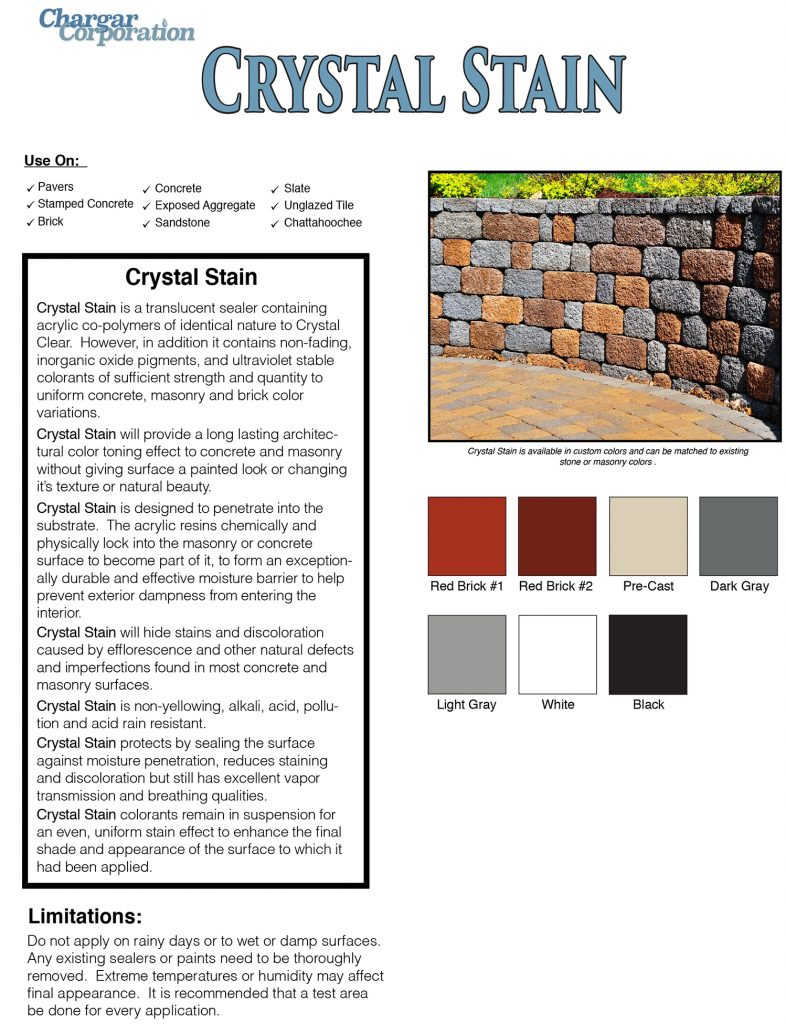 Crystal Clear data page 1a-3