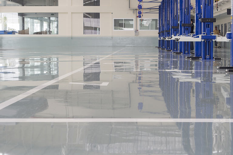 Clear Urethane High Performance Topcoat For Epoxy