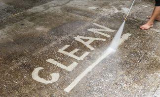 safe concrete cleaner