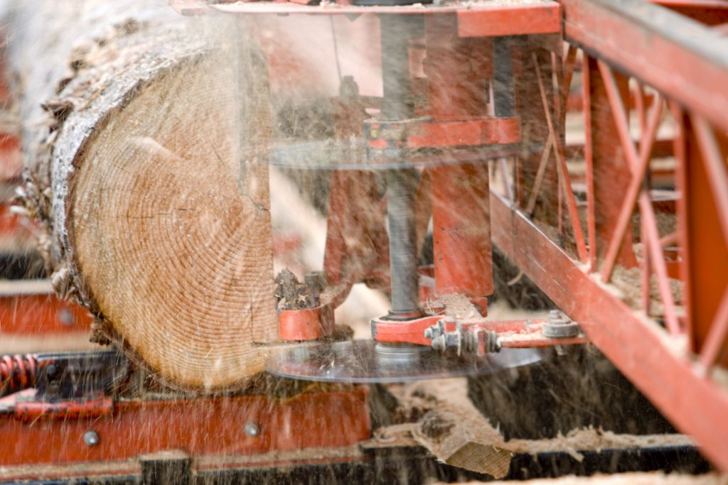 Lumber Mill cleaning