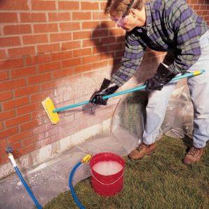 Safe brick cleaner