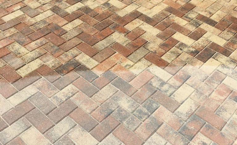 acrylic flat finish paver