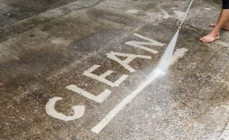 safe concrete cleaner